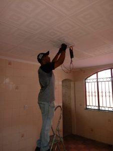 instalação ventilador de teto