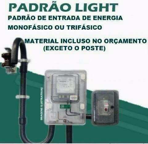 padrao light monofasico trifasico